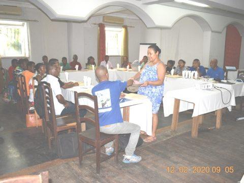Atelier de formation MDGP ZUP Melaky à Mahajanga